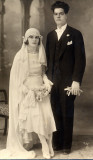 My grandfather George Drymiotis marrying my grandmother Maria Papaellina (edited)