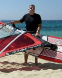 Windsurfing in Naxos in 2007 (48)
