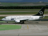 B737-500 SP-LKE 'Star Alliance'.