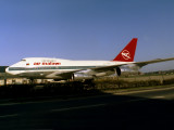 Seen Resting very close to (public) road crossing after operating a vip flight, at the Maintenance area LHR 1986.
