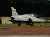 BAe Hawk A-3483 Of Indian Air Force, taxiing after landing, 16-07-07