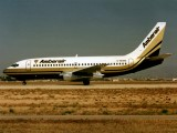 taxiing for a 06L dep at PMI in 1986.