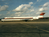 seen at LGW before Meridiana was born.Near satellite stand 36.