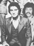 The Boss with  Tony Beckerman to his left 1972