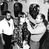 1974  Santilli with Joshua Galvin in Germany for Wella.