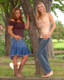 Susan & Amber 1