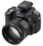 Alpha 100 + Sony FA-ST1A