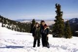 March 1996 - daughter Karen and Don near the Continental Divide