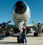 2006 - Grandson Kyler and Don Boyd with a Lockheed EC-121T Warning Star