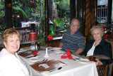 2007 - Karen and Don Boyd with Esther Majoros Criswell at Mai-Kai Restaurant