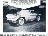 1959 - Jerry Anolik's Moon Rocket - 1955 T-Bird with Cadillac engine