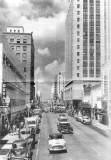 Looking west on Flagler Street in downtown Miami around 1954
