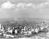 1930 - Aerial of downtown Miami, looking northwest
