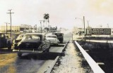 1955 - NW 36 Street east of Miami International Airport with old Delta C&S billboard on the right side