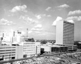1962 - Downtown Miami from the Dupont Plaza with First National Bank of Miami on the right