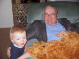 2006 - Grandson Kyler Kramer and Don Boyd