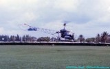 1975 - Sightseeing helicopter lifting off from Watson Island heliport