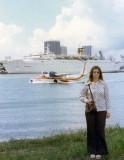 1975 - Jill Henderson Griffis on Watson Island