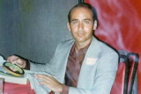 1975 - Artie Borreca at the 10-year Hialeah High reunion for the class of 1965