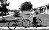 1961 - Eddie Sullivan on bike experiment that didn't work