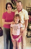 Mid 1970s - EN1 & Mrs Donald D. Tucker, USCG Retired and their daughter Karla