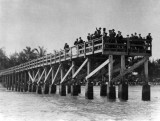 1921 - Fishing pier in the ocean at the foot of Lincoln Road