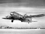 1940 - Pan American B-307 Stratoliner NC19910 Clipper Comet taking off at Miami Municipal Airport