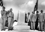 1949 - Cuban officials unveil Pan American monument at Key West