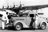 1938 - Pan American Airways System Sikorsky S-42 NC-823M with car and passengers