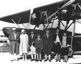 1930 - Early group travel to Nassau on Pan American Airways System at Dinner Key