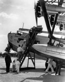 1931 - Passengers boarding a Pan American Sikorsky S-40 at Dinner Key