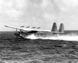 1934 - Pan American Airways System Sikorsky S-42 NC-822M Brazilian Clipper taking off in Biscayne Bay