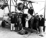 1930 - Air mail delivery being picked up from Pan American Airways System Sikorsky S-38 Flying Duck