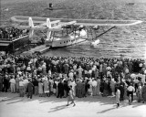 1930 - the first flight of Pan American Airways System's Sikorsky S-40 NC-80V American Clipper at Dinner Key