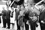 1929 - Grand opening of the new terminal for Pan American Airways System at Pan American Field, Miami