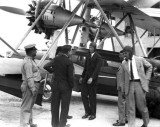 1929  - First flight of the air mail express on Pan American Airways System