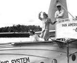 1930s - Ladies boarding a Pan American Airways System S-42 flight at Dinner Key