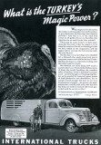 1950s - Thanksgiving Day ad by International Trucks