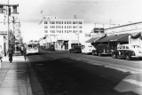 1940's - a Beach bus on the mainland in Miami on N. E. 1st Avenue and 10th Street