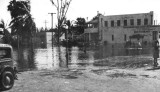 1947 - Miami Springs Pharmacy after the Flood of 1947 caused by Hurricane VI