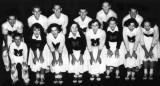 1951 - Miami High School Stingarees Cheerleaders