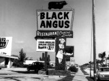 1964 - Black Angus restaurant on Collins Avenue (A1A), Sunny Isles