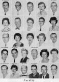 1962 - Faculty Members for Palm Springs Junior High School, Hialeah