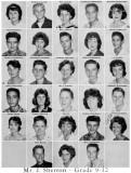 1962 - Grade 9-12 at Palm Springs Junior High School, Hialeah