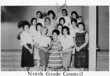 1962 - 9th Grade Council at Palm Springs Junior High School, Hialeah