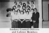 1962 - Student Council Officers and Cabinet Members at Palm Springs Junior High School, Hialeah