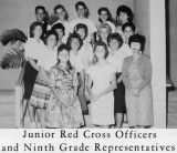 1962 - Junior Red Cross Officers and Ninth Grade Representatives at Palm Springs Junior High School, Hialeah