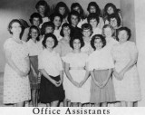 1962 - Office Assistants at Palm Springs Junior High, Hialeah