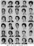 1962 - Grade 9-15 at Palm Springs Junior High School, Hialeah