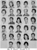 1962 - Grade 9-13 at Palm Springs Junior High School, Hialeah